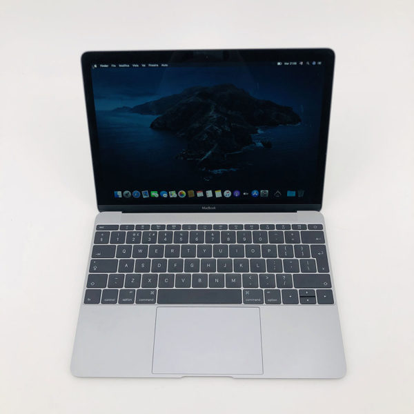 "7199_4242-600x600 Apple MacBook 12.1"" Retina Grey intel® Dual-Core M3 1.1GHz Early 2016 (Ricondizionato)"