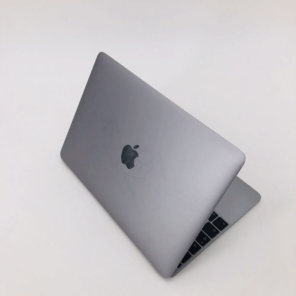 "7199_4243-600x600 Apple MacBook 12.1"" Retina Grey intel® Dual-Core M3 1.1GHz Early 2016 (Ricondizionato)"