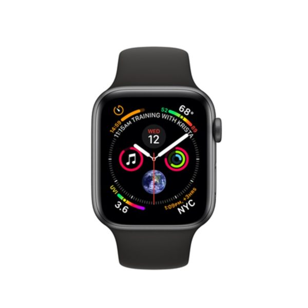 WATCH-4-NERO-800x800-1-600x600 Apple Watch 44mm Alluminio Grey Serie 4 GPS + Cellular (Ricondizionato)