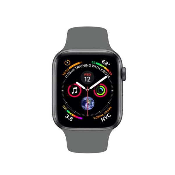 WATCH-4-NERO-G-800x800-1-600x600 Apple Watch 40mm Alluminio Grey Serie 4 GPS (Ricondizionato)