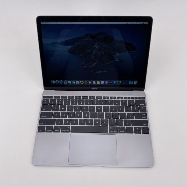 "7536_1108-600x600 Apple MacBook 12.1"" Retina Grey intel® Dual-Core M3 1.1GHz Early 2016 (Ricondizionato)"