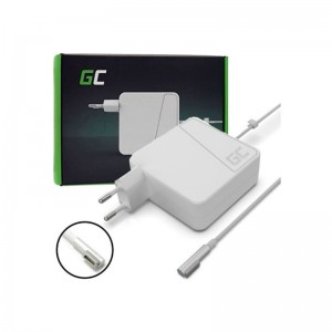 GREENCELL-60W-300x300 Apple MagSafe (1a Gen) 60W alimentatore caricabatterie compatibile (Nuovo)