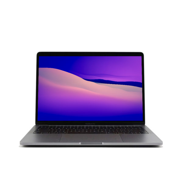 "MBPRT13G-1-600x600 Apple MacBook Pro 13.3"" TouchBar Grigio Siderale intel® Quad-Core i5 2.4GHz 2019 (Ricondizionato)"